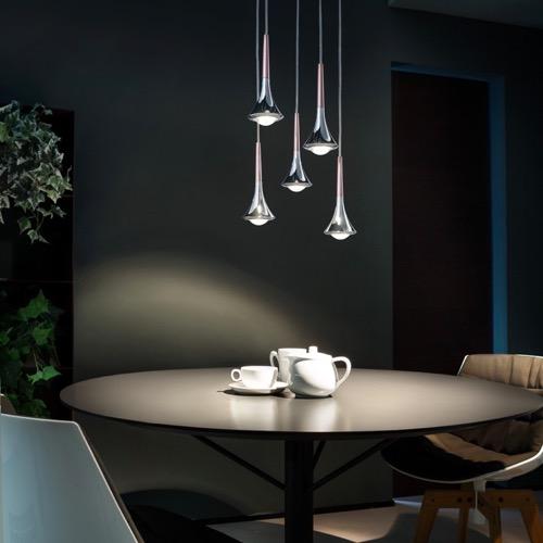 Led Pendelleuchte Rain By Studio Italia Design
